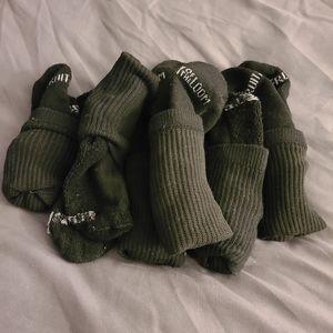 BNWOT fruit of the loom ladies crew socks
